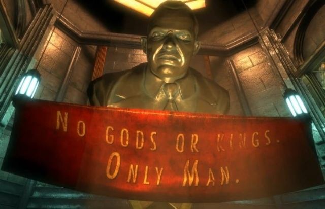 BioShock Andrew Ryan no gods or kings from YouTube