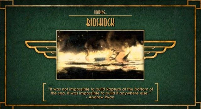 BioShock ocean description from YouTube