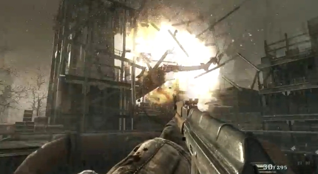CoD Black Ops skewer the winged beast-helicopter crash from YouTube