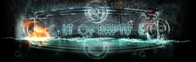 The Cult of Rapture banner from official Cult of Rapture website