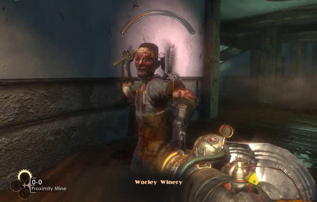 BioShock The Wader attacking from YouTube