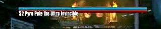 Pyro Pete the Invincible Title