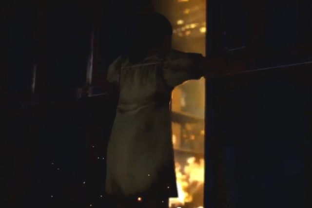 Black Ops 2 Menedez's Sister and the Warehouse fire from YouTube-IGN channel (3)