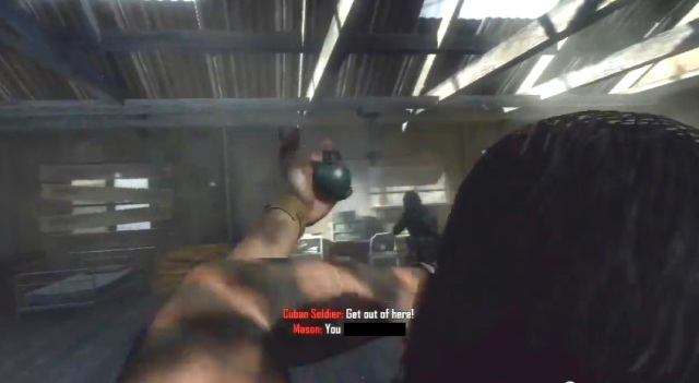 Black Ops 2 Menendez Grenade Sequence from YouTube-theRadBrad channel (2)
