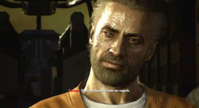 Black Ops 2 Menendez's Darkened Eye from YouTube