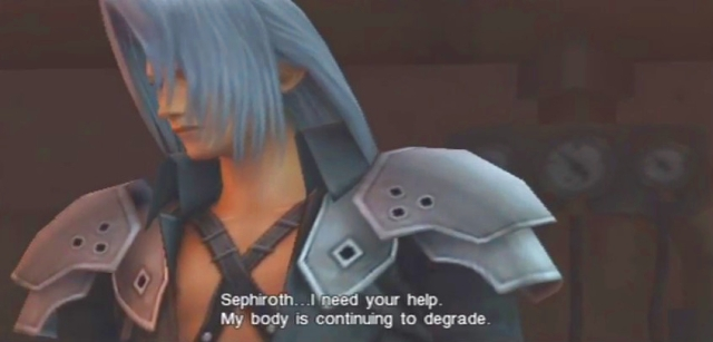 Crisis Core FFVII Sephiroth and Genesis Dialog from YouTube-'BrySkye' channel (23)