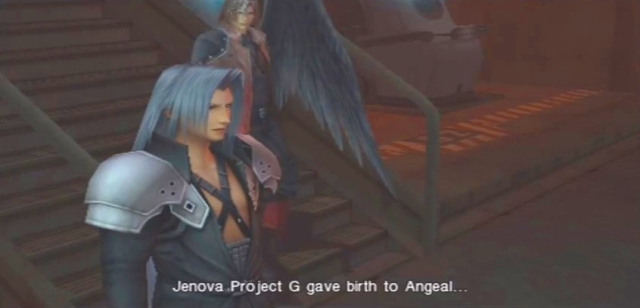 Crisis Core FFVII Sephiroth and Genesis Dialog from YouTube-'BrySkye' channel (28)