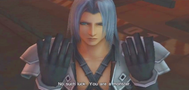 Crisis Core FFVII Sephiroth and Genesis Dialog from YouTube-'BrySkye' channel (3)
