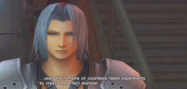 Crisis Core FFVII Sephiroth and Genesis Dialog from YouTube-'BrySkye' channel (32)