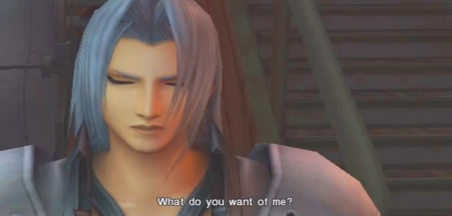 Crisis Core FFVII Sephiroth and Genesis Dialog from YouTube-'BrySkye' channel (33)