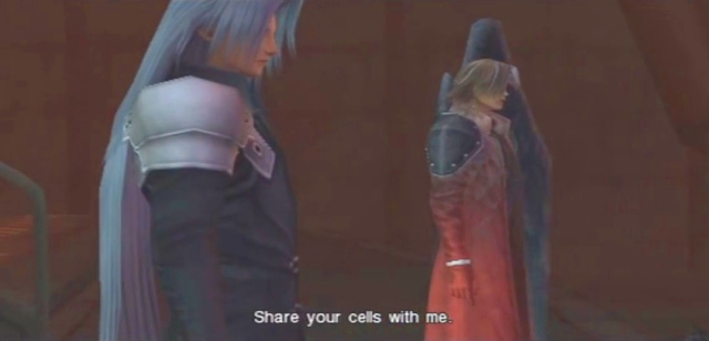Crisis Core FFVII Sephiroth and Genesis Dialog from YouTube-'BrySkye' channel (37)
