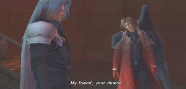 Crisis Core FFVII Sephiroth and Genesis Dialog from YouTube-'BrySkye' channel (38)