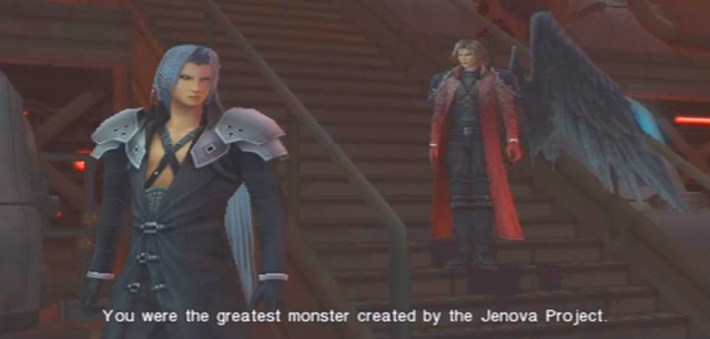 Crisis Core FFVII Sephiroth and Genesis Dialog from YouTube-'BrySkye' channel (5)