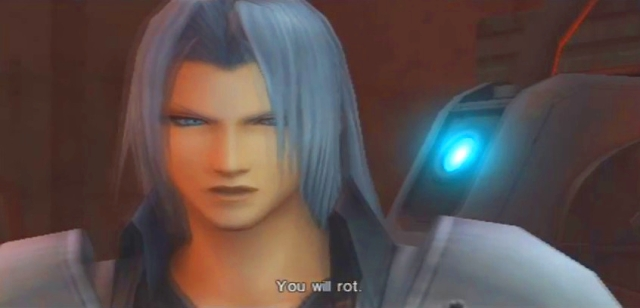 Crisis Core FFVII Sephiroth and Genesis Dialog from YouTube-'BrySkye' channel (52)
