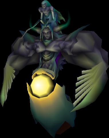 FFVII Bizarro-Sephiroth Character Model from FFWiki