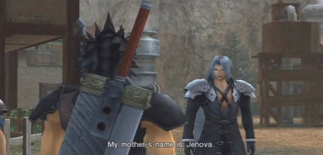 FFVII Crisis Core Sephiroth's Origins Part 1 from YouTube- channel 'BrySkye' (1)