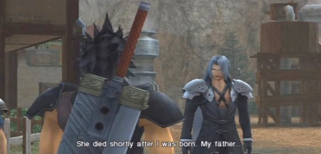 FFVII Crisis Core Sephiroth's Origins Part 1 from YouTube- channel 'BrySkye' (2)