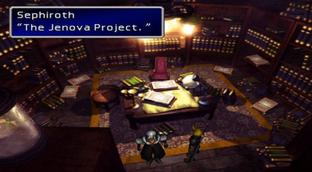 "Sephiroth: ""The Jenova Project."""