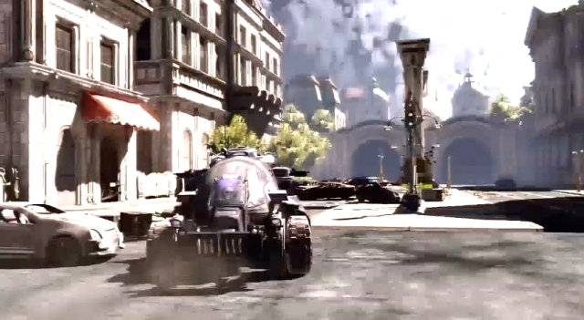 Gears of War 3 Raam's Shadow Locust Emergence Hole Sequence from YouTube (1)