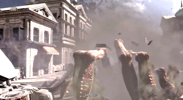 Gears of War 3 Raam's Shadow Locust Emergence Hole Sequence from YouTube (4)