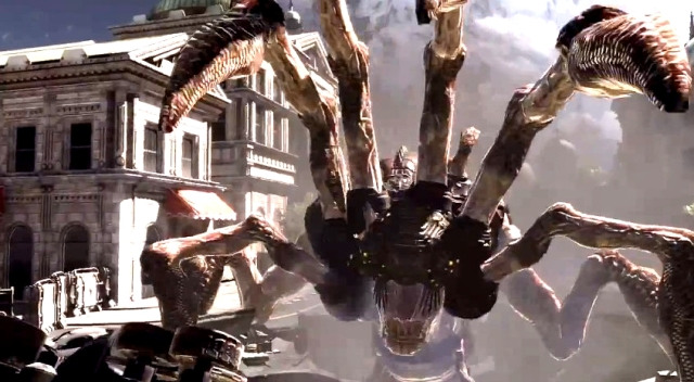Gears of War 3 Raam's Shadow Locust Emergence Hole Sequence from YouTube (5)
