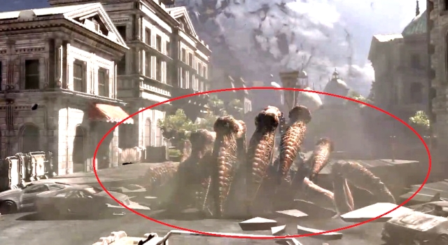 Gears of War 3 Raam's Shadow Locust Emergence Hole Sequence from YouTube (6)