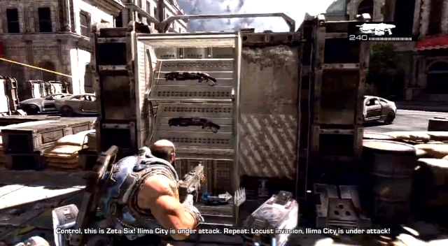 Gears of War 3 Raam's Shadow Locust Emergence Hole Sequence from YouTube (7)