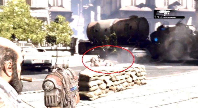 Gears of War 3 RAAMs Shadow Normal Emergence Hole Sequence 2 from YouTube (2)