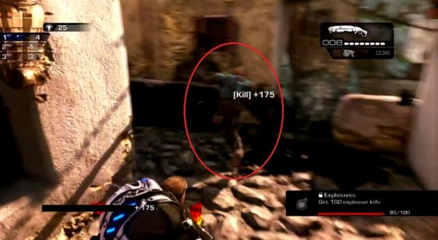 Gears of War Judgment Ink Grenade shots from YouTube  (10)