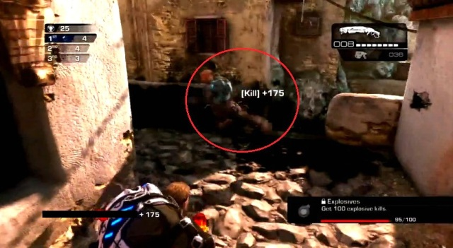 Gears of War Judgment Ink Grenade shots from YouTube  (11)