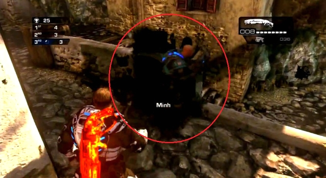 Gears of War Judgment Ink Grenade shots from YouTube  (8)