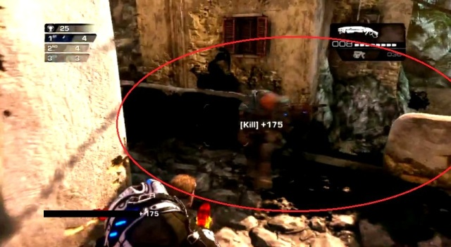 Gears of War Judgment Ink Grenade shots from YouTube  (9)