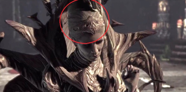 """Queen Myrrah in Gears of War 2. """"And they had hair as the hair of women"""""""