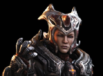 Queen Myrrah close-up from Gears of War Wiki