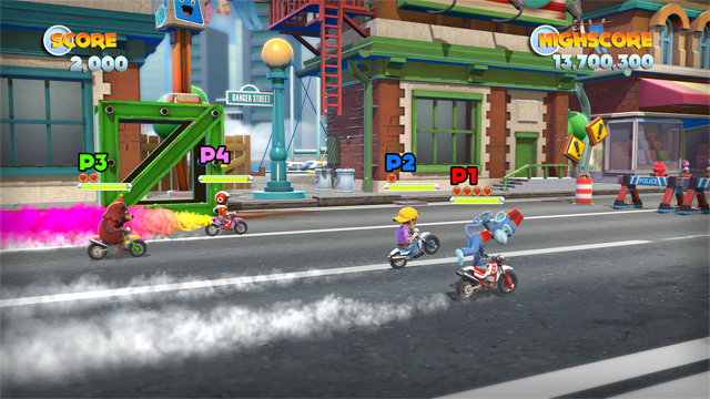 Joe Danger Multiplayer from PlayStation Store Page
