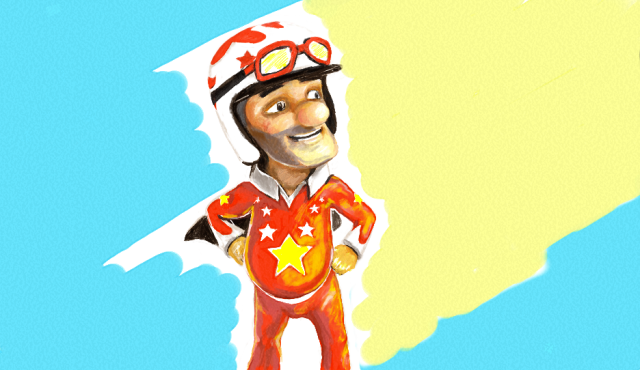 Joe Danger SE  image from original review at Pro Guide for Noobs