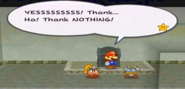 "Demon #1: ""YESSSSSSSSS! Thank..  Thank NOTHING!"""