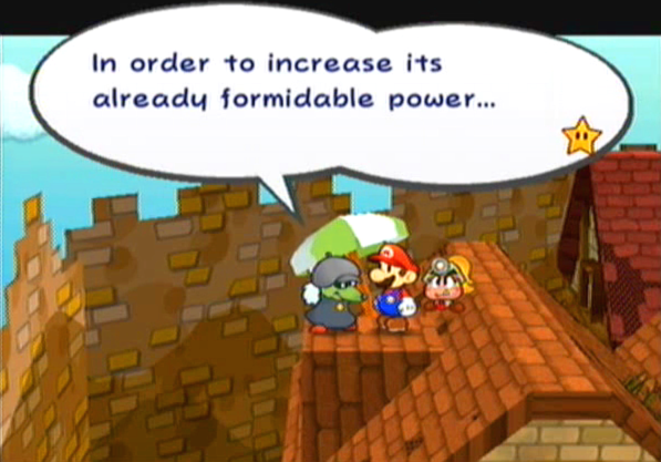 """In order to increase its already formidable power..."""