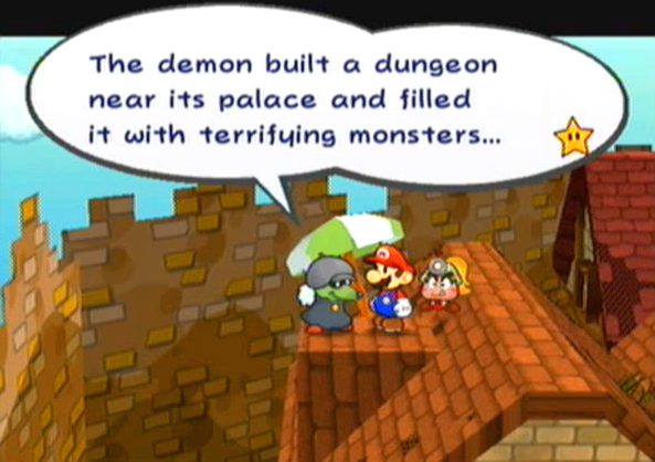 """The demon built a dungeon near its palace and filled it with terrifying monsters..."""