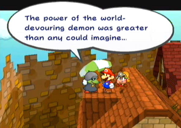 """The power of the world-devouring demon was greater than any could imagine..."""