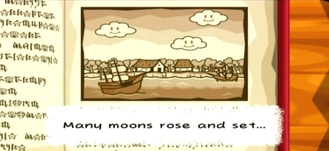 """Many moons rose and set..."""