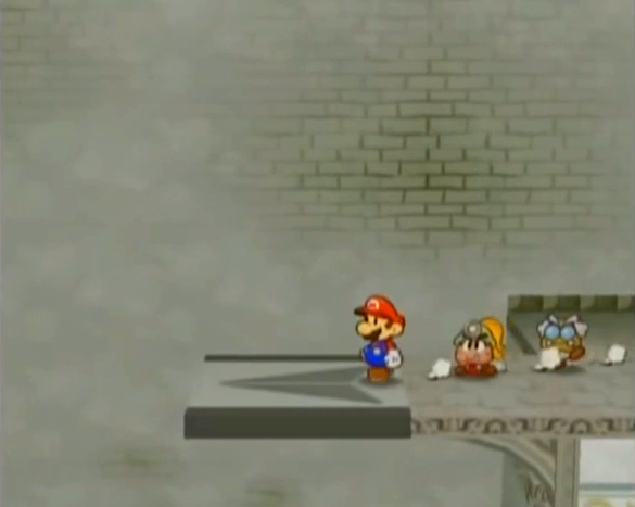 Paper Mario TTYD Impassible Point from YouTube-SpeedRunsAlmo channel
