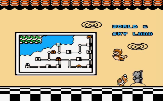 SMB 3 Ending Koopa Worships Mario from YouTube-Artificialraven channel