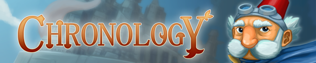 Chronology Logo header from Official Presskit