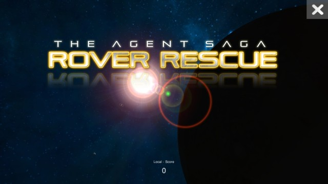 Rover Rescue Logo Screenshot