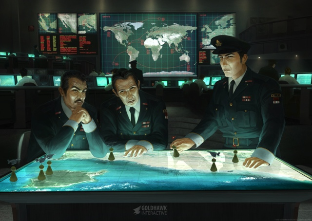 Xenonauts Poster from Kickstarter Project