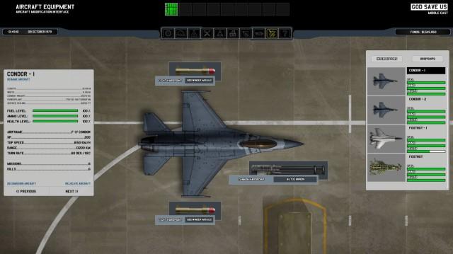 "The ""Condor"" interceptor."