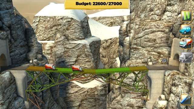 Bridge Constructor Screenshot 1 from Steam Store Page
