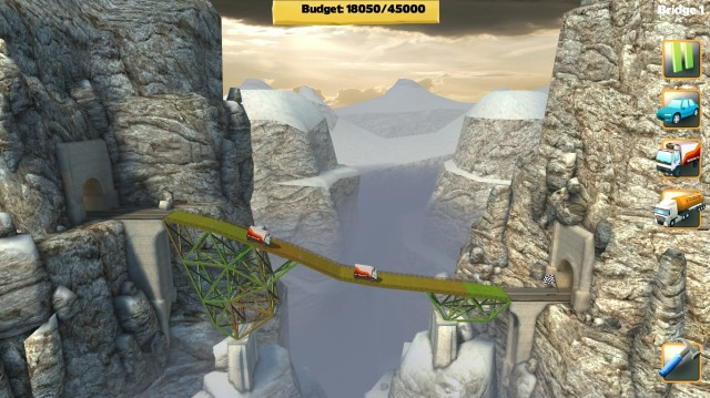 Bridge Constructor SlopeMania Screenshot