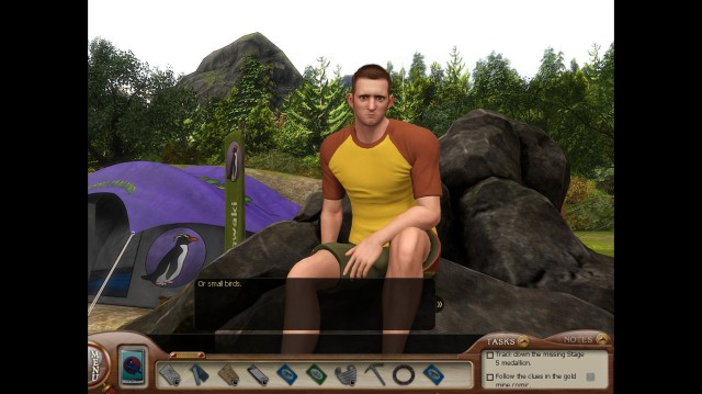 Nancy Drew MED Patrick Screenshot Bundle (3)
